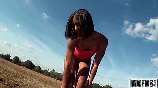 Fuck Me Under Blue Skies video starring Jazmine Beach - Mofo