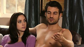Gorgeous porn model Chanel Preston gives an interview