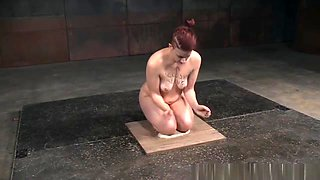 Redhead Slave Dominated Over By Her Femdom