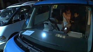 Fabulous Japanese slut Eriko Miura in Crazy Car JAV clip