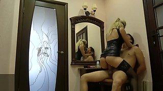 Mistress Fucks Anal her Slave