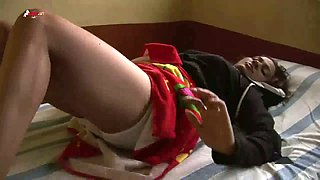 Cute Indian amateur girl pleases her boss to keep her job